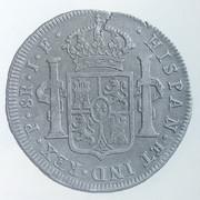 8 Reales 1810. Fernando VII. Popayán. Reproducción. Image