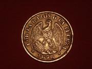 20 Centavos. Chile. 1876. Santiago de Chile P2253437
