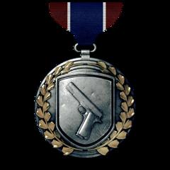 Medalhas BF3 Handgun