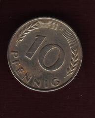 10 Pfennig. Alemania. 1950. Munich 4_4