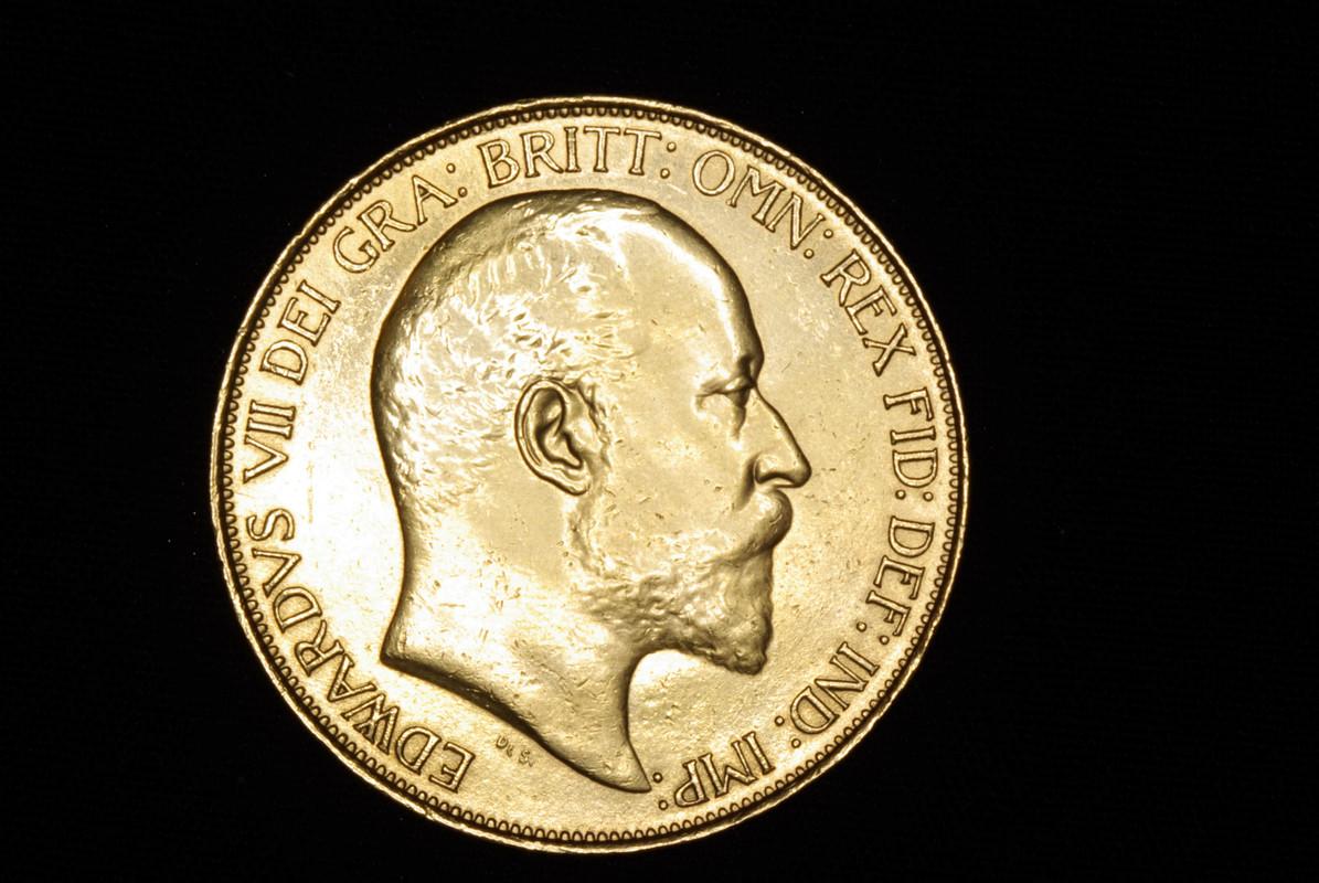Eduardo VII Reino Unido 1902, 5 libras IGP7759