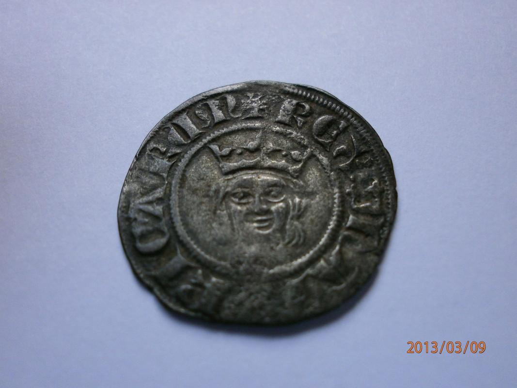 Dobler de Jaume II (Regne de Mallorca, 1276-1311). P3090025