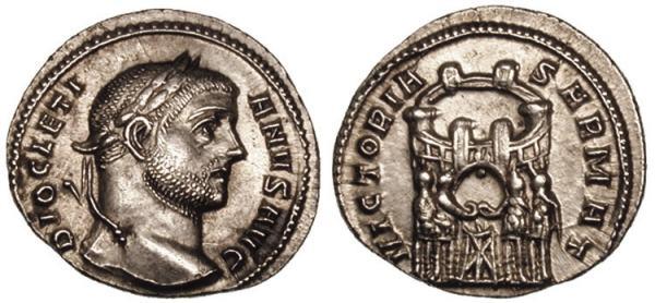 Denominación de monedas en la antigua Roma: El Bajo Imperio. 0_0argenteo