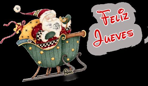 Linda Navidad Ho Ho Ho !! JUEVES