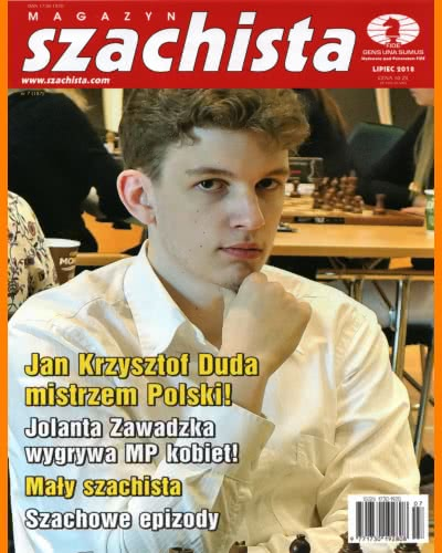 CHESS PERIODICALS :: Magazyn SZACHISTA (Polish Chess Monthly Magazine) Ms_2018-07