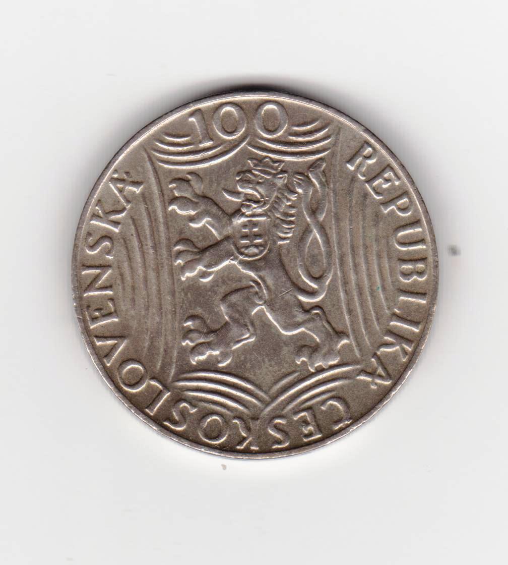 100 coronas, Checoslovaquia 1949 (Stalin) Stalin_001