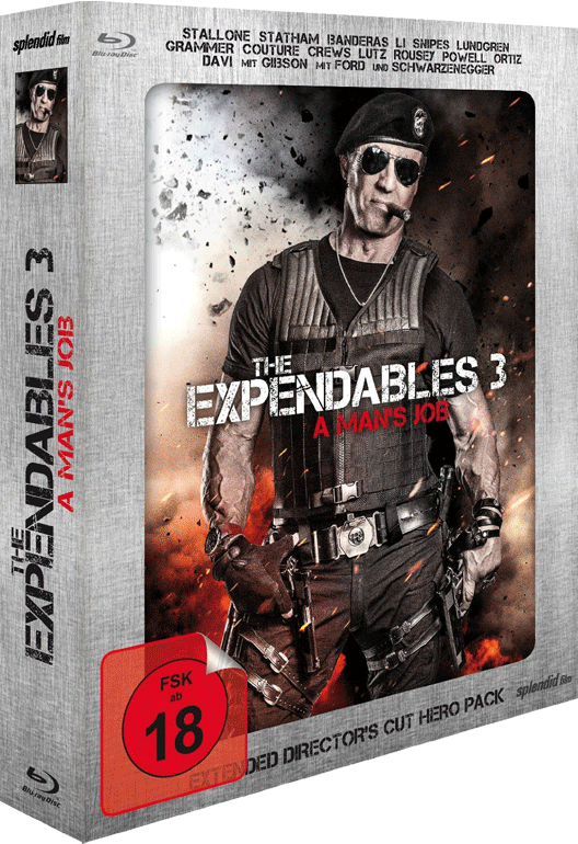 The Expendables 3 (Los Mercenarios 3) 2014 - Página 10 Steel_book