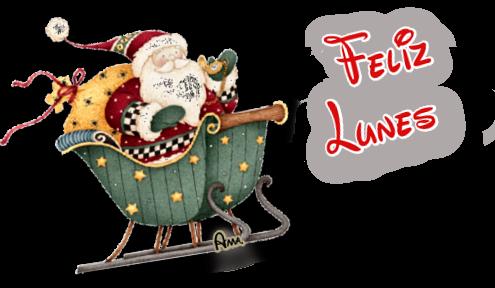 Linda Navidad Ho Ho Ho !! LUNES