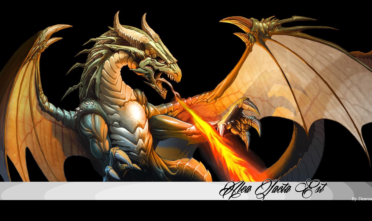 Montage fond d'écran  With_Dragon