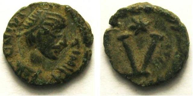 Denominación de las monedas de Bizancio. 1ª parte V_nummi