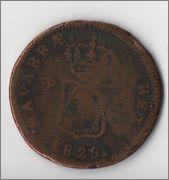 3 maravedis 1829 Pamplona Fernando VII ¿BC? Fernandillo1