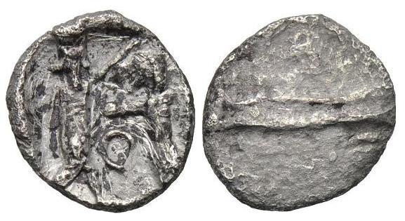 Óbolo de Sidón (375-333 a.C.) Dedicado a Fmbejarano. Image