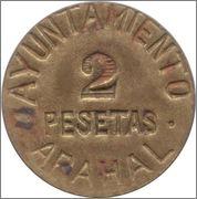 ¿Cuántas monedas componen la serie de Menorca completa? Arahal_2ptas