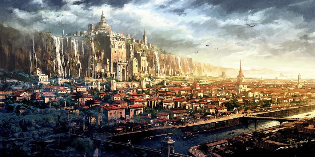 ELEMENTOS: Lanzada de dados y génesis de personajes Great_fantasy_city_1024x512