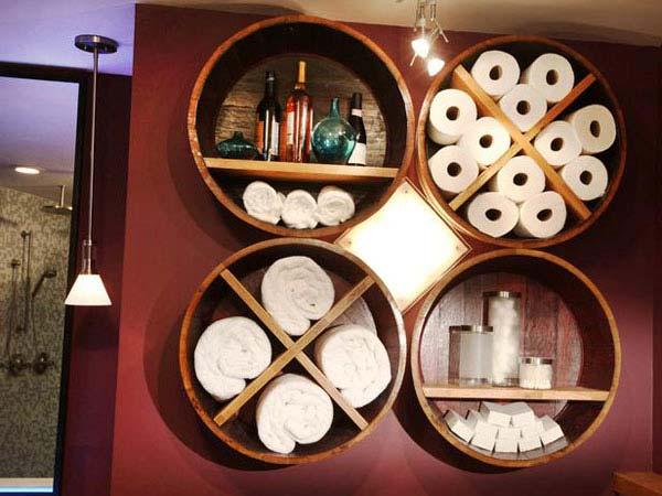 بالصور .. أفكار أنيقة لاستغلال المساحات بحمام المنزل Diy_bathroom_storage_ideas_17