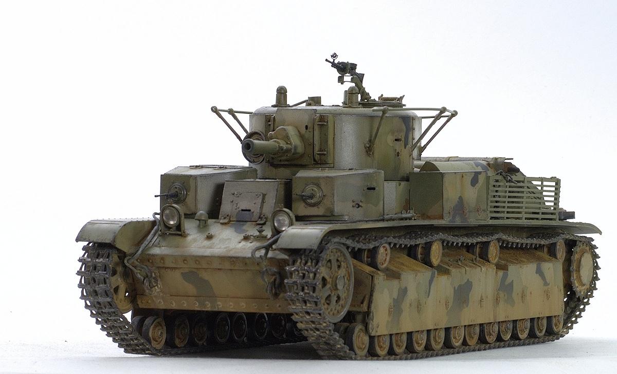 T-28 medium tanks (riveting type) Hobby Boss 1/35 Image