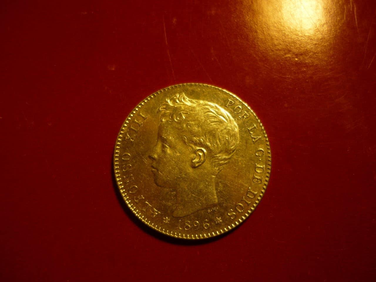 1 pta Alfonso XIII 1896 *18-96 PGV P1040227