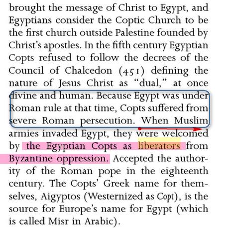 فتح مصر و أخلاق المسلمين العالية Islam2