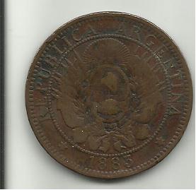 LA MONEDA DEL PRIMER DEFAULT ARGENTINO - 2 CENTAVOS MONEDA NACIONAL 2_centavos_de_peso_r