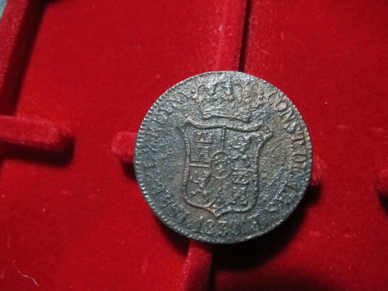 6 Cuartos 1839. Isabel II. Barcelona IMG_3523