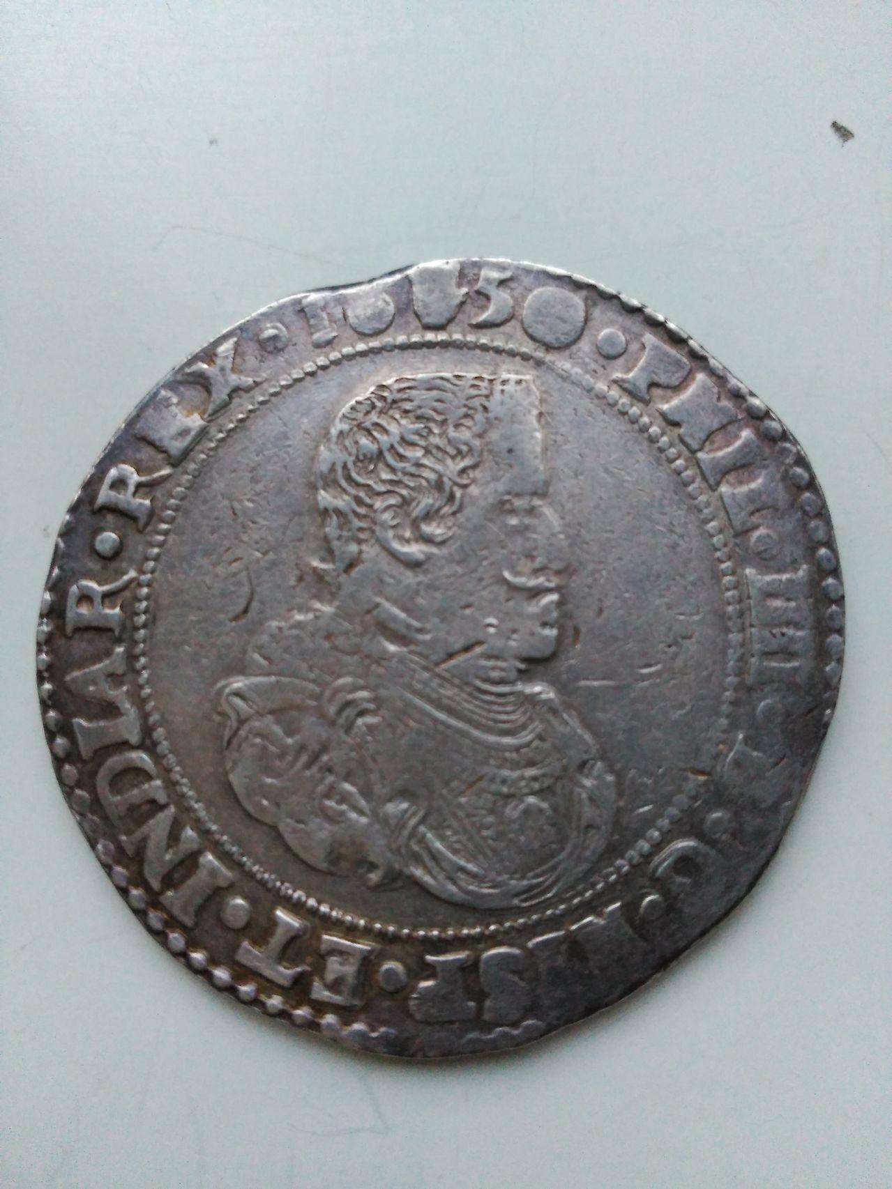 Ducatón de Felipe IV. 1650. Amberes Image
