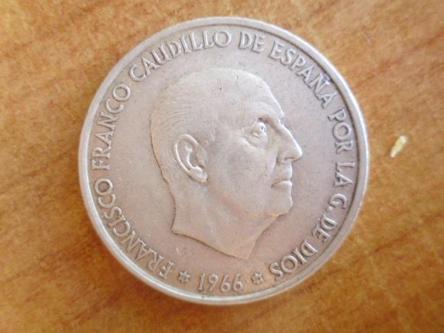 I aniversario numismario: 100 pesetas 1966 19-70 P1100946