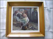 Silvia-goblen galerie Curatatoarea_de_argintarie_34x35