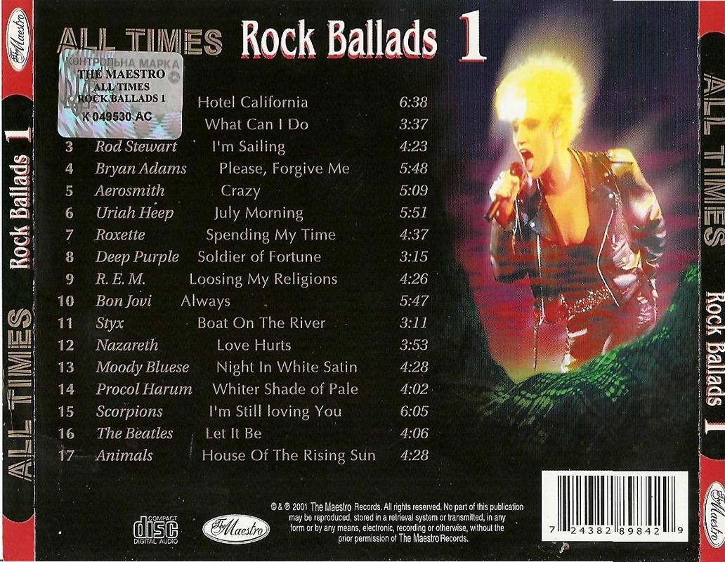 VA-All Times Rock Balads FLAC Rock_Ballads_1_Cover_Back