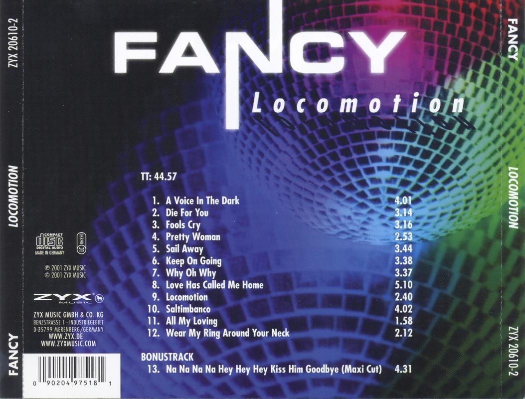 FANCY-FLAC Back