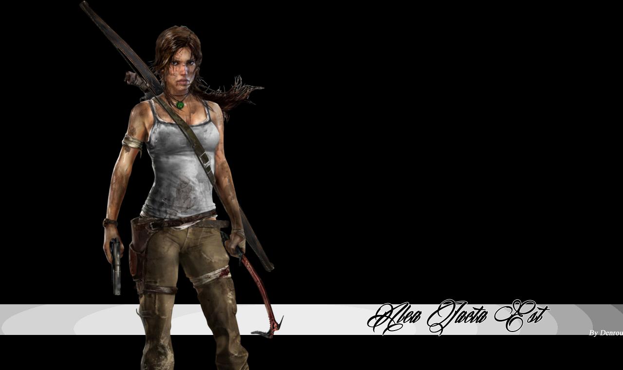 Montage fond d'écran  With_Tomb_Raider
