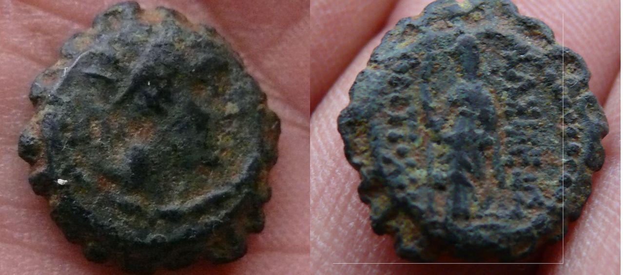 AE13 de Antiochos IV. Seleucid_coin