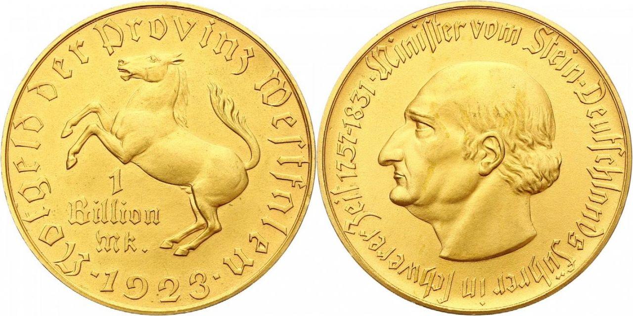 Monedas de emergencia emitidas por el banco regional de Westphalia N28_var