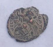 AE3 de Constancio II. FEL TEMP REPARATIO. Arlés 102_3973