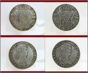 8 REALES FERNANDO VII ,1818, SEVILLA, C - J Studio_20151006_134935