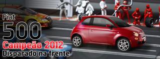 Fiat 500 in Brasile. Campeao_2012