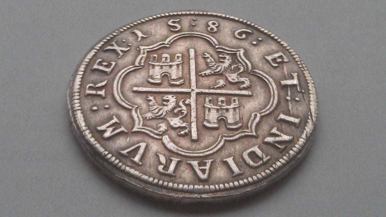 8 reales FELIPE II  Ingenio de Segovia 1586 IMAG1632