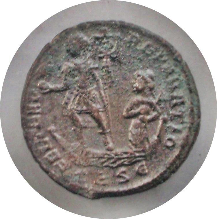 AE2 de Constancio II. Constancio_ii_rev