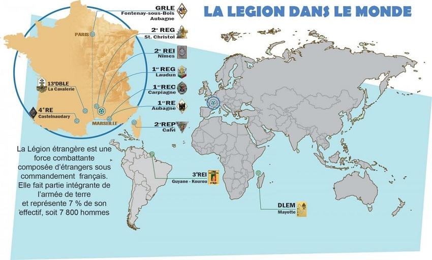 LEGIJA STRANACA - Légion étrangère Postrojbe_legije_stranaca_850