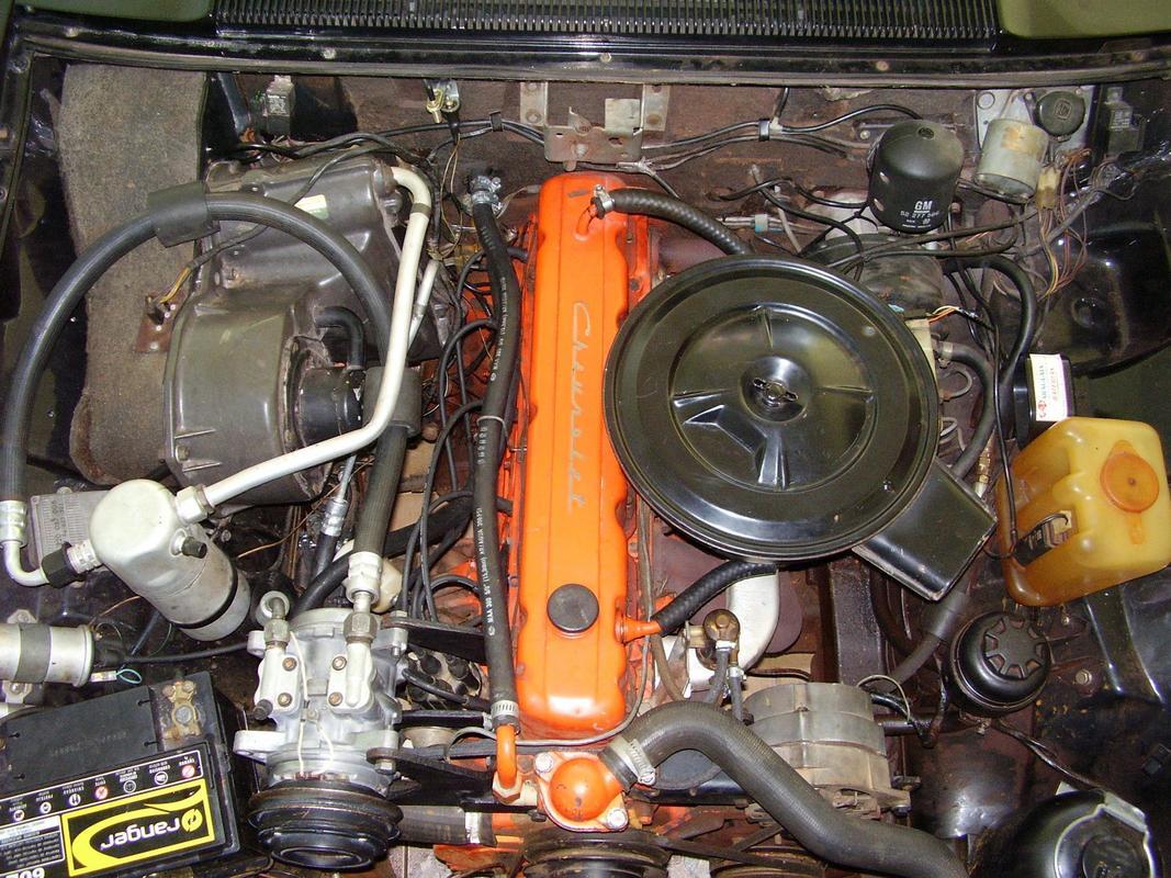 Diplomata Coupe 1988 - 250S Motor_01