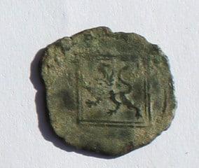 Blanca del ordenamiento de Segovia de 1471 Enrique IV de castilla 1452-1474 Avila. Rombo_rev