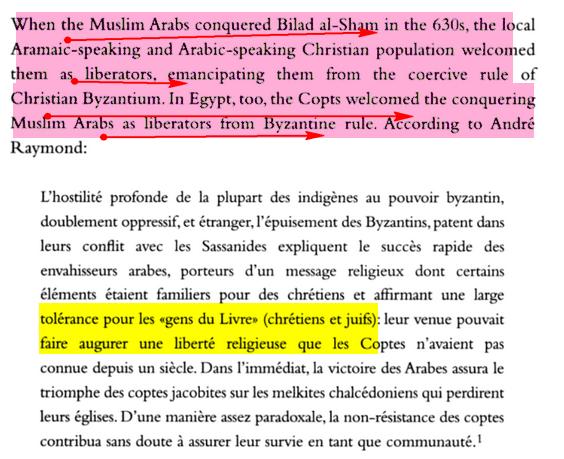 فتح مصر و أخلاق المسلمين العالية Islam3