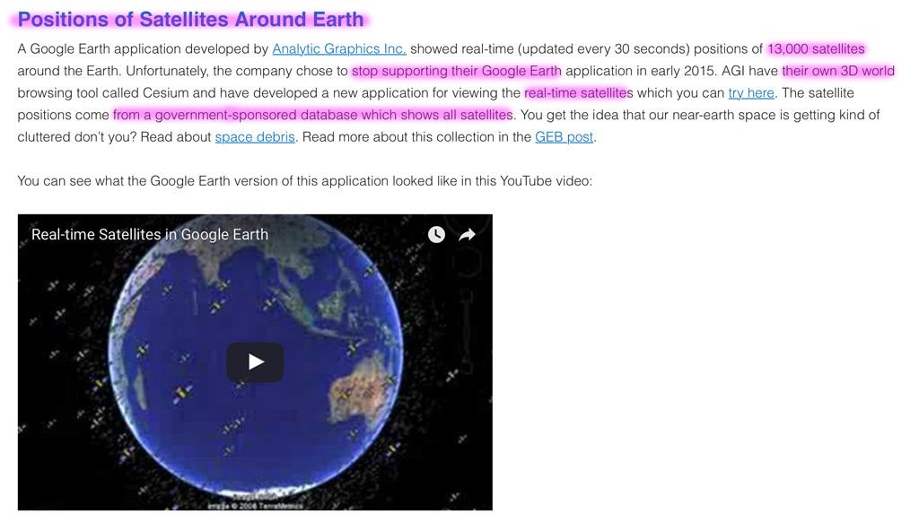 Die Erde, in der wir leben und der Raum, der die Welt ist - Seite 21 Positions