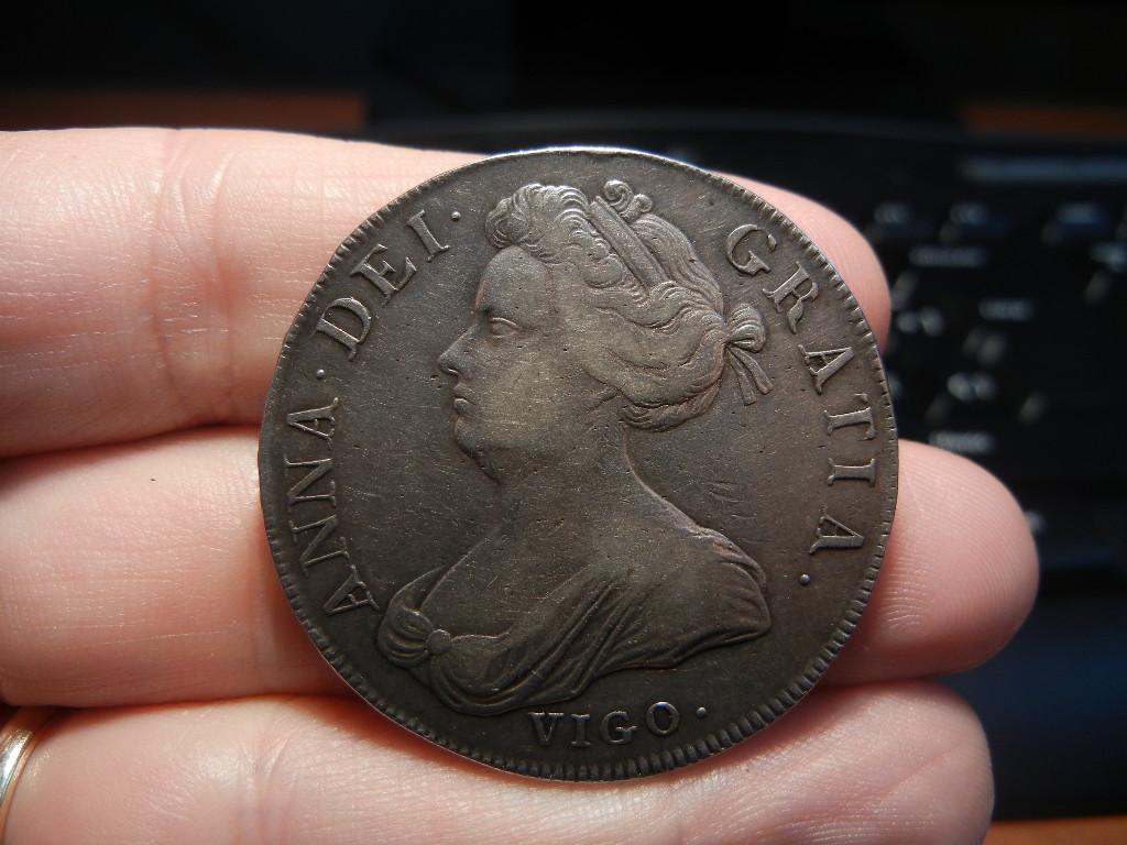 1 Corona 1703. Londres (Inglaterra). Reina Ana de Estuardo. (VIGO en anverso) 1_Corona_Vigo_anverso