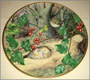 Peter Barrett | Времена года и животный мир - Живопись на фарфоре 906859_580460225311084_1503383265_o