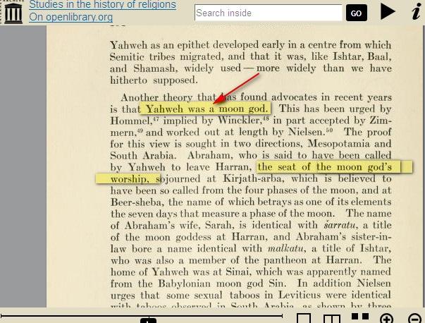 Les Absurdités du christianisme des Témoins de jéhovah Yahweh_idolatrie1
