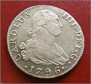 4 reales 1796. Carlos IV. Madrid 57_1