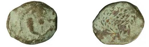 Prutah de Alejandro Janeo 103 - 76 a. C. Hendin #475 Anverso_y_reverso_Alejandro_Janeo_02