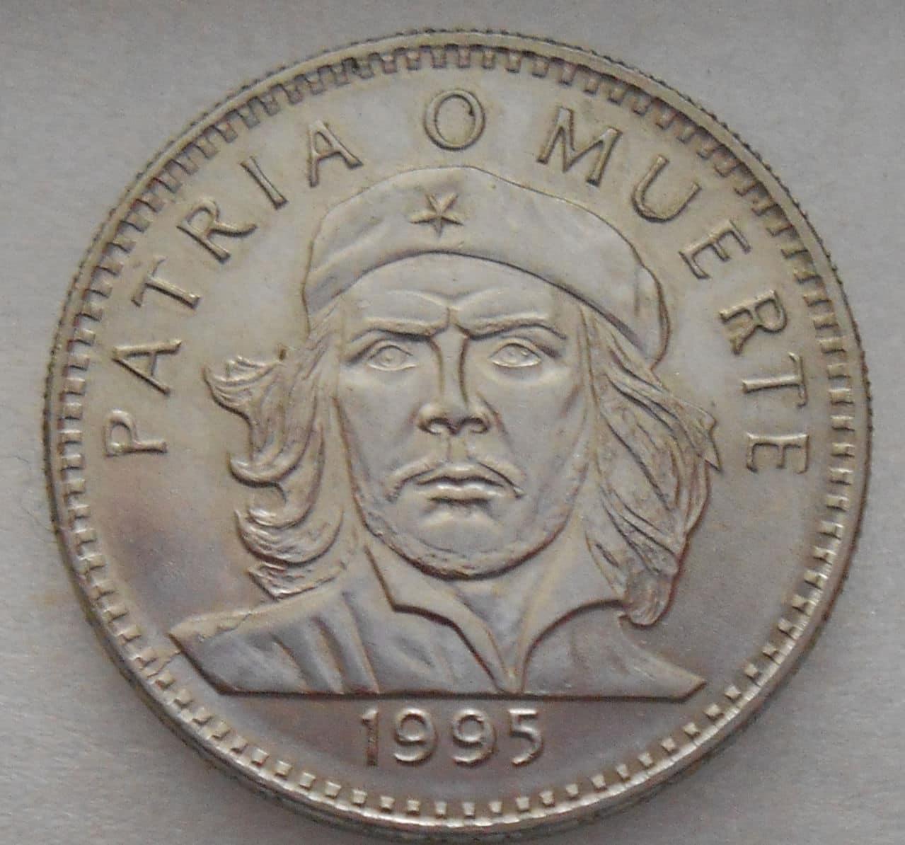 3 pesos Cuba año 1995 - Che Guevara 3_pesos_1995_anv
