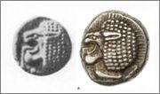 1/12ème de statère archaïque ionien de Milet  Liaison_de_coin