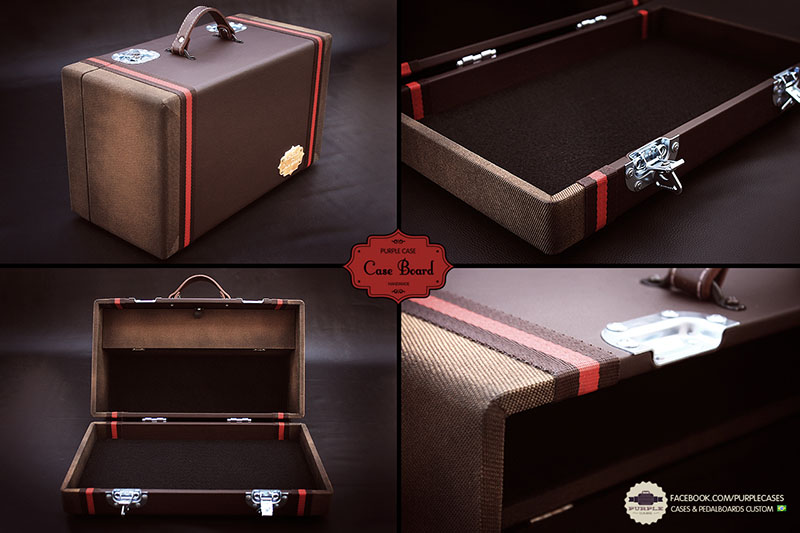 Nova pedalboard nacional: Purple Cases! 3021